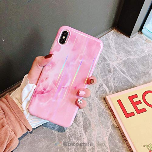 Cocomii Gradient Marble Armor iPhone 6S Plus/6 Plus Hülle [Bunter Granit] Ultra HD Klares Muster Verblasst Nicht Kratzfest Stoßfest Case Schutzhülle for Apple iPhone 6S Plus/6 Plus (GM.Pink) (6 Protector I Plus Shield Phone)