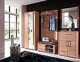 Stella Trading OGHH153060 Garderobe, Holz, braun, 36 x 90 x 44 cm