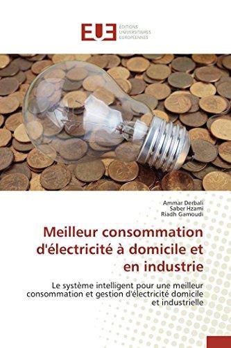 Meilleur consommation d'électricité à domicile et en industrie