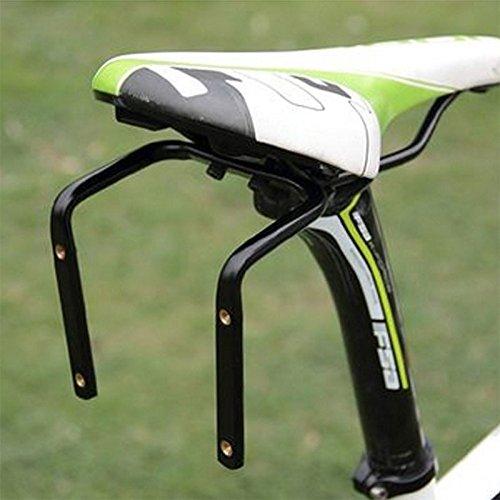 Zantec Halter Käfig Adapter RACK für Bike Fahrrad Rücksitz Sattel Aluminium Legierung Doppel Wasser Flasche