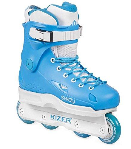 USD Sway PB 2 Aggressive/Powerblading Skates Hellblau/weiß 41 (Aggressive-skates 2)