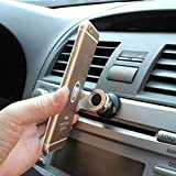 #8: Dolland Magnetic Car Cell Phone Mount, Universal 360 Rotation Magnetic Car Phone Holder Car Dashboard Sucker Cell Phone Stand Holder ,Black
