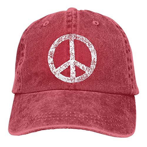 Herren Kostüm Kolonial - Kling Baseball Cap für Unisex, Symbol Peace Sign-2 Classic Cotton
