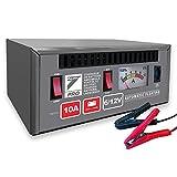 Auto7 708.955 chargeur de batterie 100% automatique 10A 6/12V pour batteries 10Ah à 100Ah