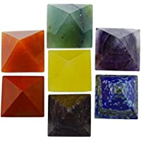 HARMONIZE HarmonizeMulti Steine ??7 Pyramiden Set Feng Shui Reiki Kristall-Energie-Generator Heilige preisvergleich bei billige-tabletten.eu