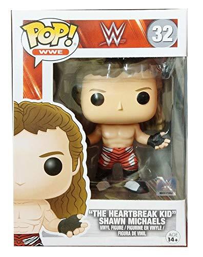 Funko 13442-WWE Wrestling, Pop Vinyl Figure 32Shawn Michaels The Heartbreak Kid (Shawn Michael Wwe Spielzeug)