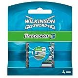 Wilkinson - Protector 3 - Lames de rasoir pour Homme - Pack de 4