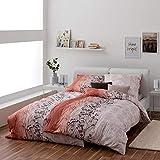 Estella Original Bettwäsche aus 100% Baumwolle, Premiumqualität Made in Germany, Kissenbezug 70 x 90cm, Verschiedene Modelle und Qualitäten zur Auswahl (Mahagoni, Einzelbett (140x200 cm))