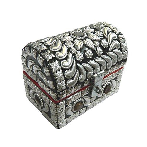 Cofre-pirata-plateado-brillante-10-x-65-x-8-cm-piedras-de-gata-almacenamiento-caja