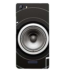 PrintVisa Designer Back Case Cover for Micromax Canvas 5 E481 (Loudspeaker design :: Best woofer design :: Terrific woofer design :: Latest woofer design :: Top woofer design)