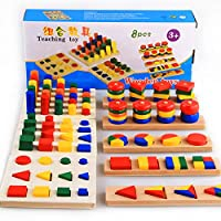 Educational Toy for Children 8 pieces , Multi Color