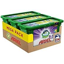 [Sponsorisé]Ariel 3en1 Pods Couleur Lessive Capsules - 3x38 Lavages - FORMAT ECONOMIQUE