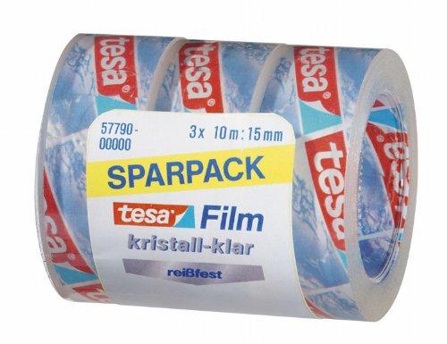 Tesa 57790-00000-00 Tesafilm, 3 Rollen