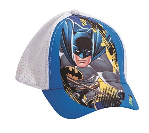 Official Licensed Batman Boys Blue & white Hat - Licensed DC Comics Merchandise
