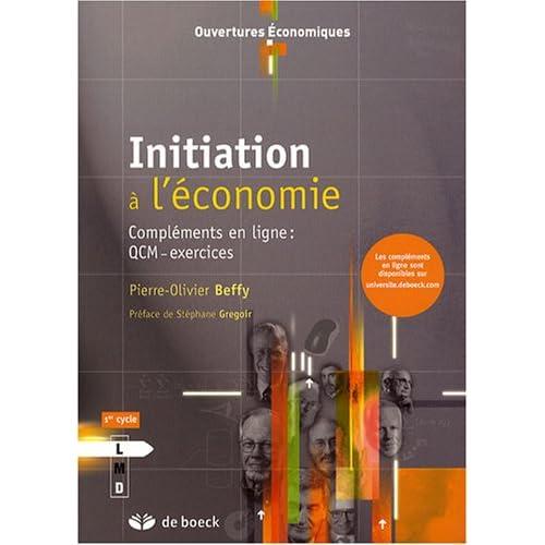Initiation à l'économie : Compléments en ligne : QCM-exercices