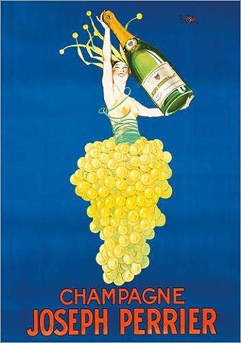 Impression sur bois 70 x 100 cm: Champagne Joseph Perrier de Clement André Lapuszewski / ARTOTHEK