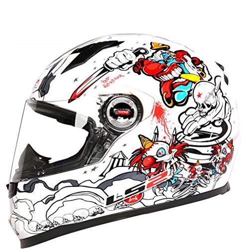 Erwachsene Professionelle Motocross Helme Anti Fog Winddicht Outdooor Mountain Road Motorrad Sicherheitskappen Abs Material Anti Collision Full Face Racing Helme - Lazer Motorrad Helm
