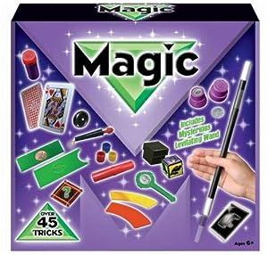 45 Trucos Magia Set Infantil Magos Caja Creativo Aprendizaje para niños de Kandy Toys