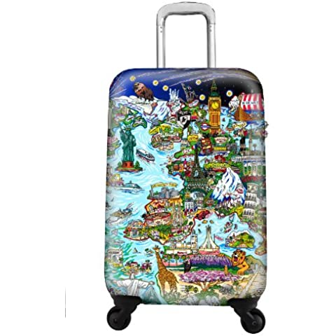 Heys–Artist Fazzino World Trolley (4ruedas pequeñas