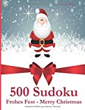 500 Sudoku Frohes Fest - Merry Christmas