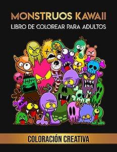 Monstruos Kawaii: Libro de Colorear