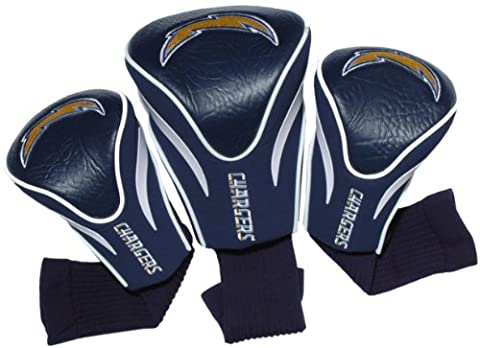 NFL San Diego Chargers 3 Pack Contour Fit