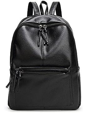 Tibes Mode wasserdicht PU Leder Rucksack für Frauen