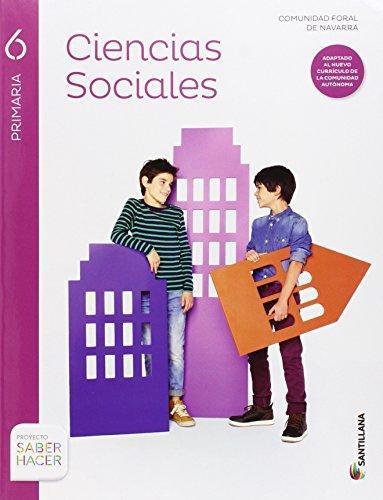 CIENCIAS SOCIALES NAVARRA 6 PRIMARIA - 9788468031804