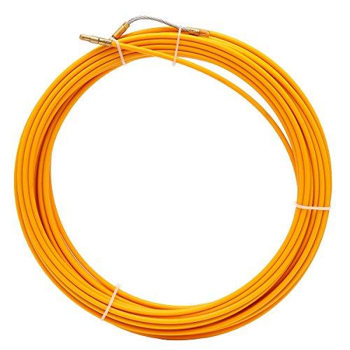 JCHUNL 10M / 20M / 30M 6mm Fiberglas-Kabelabzieher-Fisch-Bandspulen-Rohrleitung, das Rodder zieht New Hot (Color : 20M)