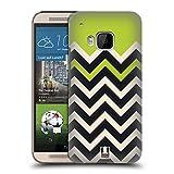 Best Per HTC M9 - Head Case Designs Verde Lime Chevron A Blocchi Review