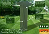 Patio Heater Luxury Polyester Fully weatherproof Garden Furniture Cover KC13 (215cm, Green)