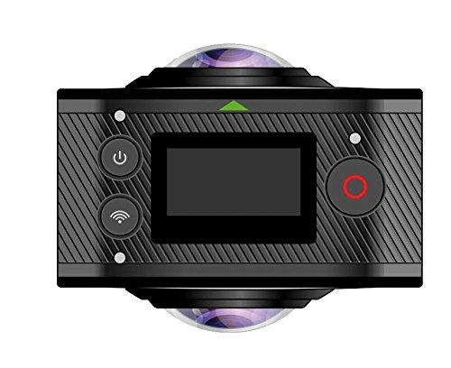 GoXtreme 20134Dome 360gradi VR/panorama pieno sfera nero della macchina
