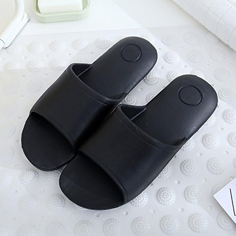 2 Paar Einfache Hausschuhe Herren Und Frauen Badezimmer Rutschfeste Bad  Cool Hausschuhe Für Innenräume Verschleißfest   C4ff82    Innovativejewels.com