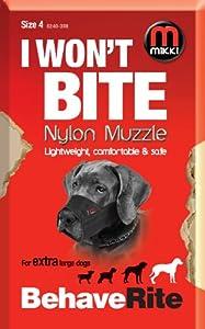Mikki Muselière de dressage pour chien Taille 4