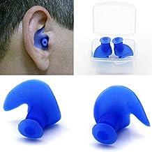 1par resistente al agua Natación Profesional silicona Swim Tapones para los oídos para adultos nadadores niños buceo suave anti-ruido Ear Plug