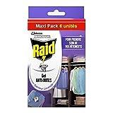 Raid–Gel Mottenschutz Lavendel Maxi Pack 6(ein Stück)