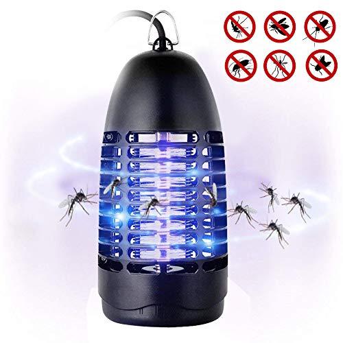 Fenvella Zanzariera Elettrica, 7W Lampada Antizanzare Elettrico Insetticida con Luce UV e...