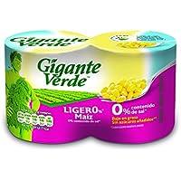 Gigante Verde Lata De Maíz Dulce Ligero - 140 gr