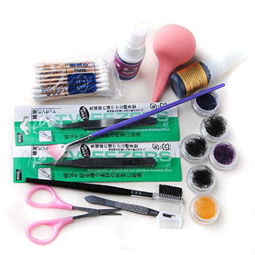 Coscelia Individuel Lashes Maquillage Faux Cils Extension Cosmetic Kit Naturelles Longue Cils