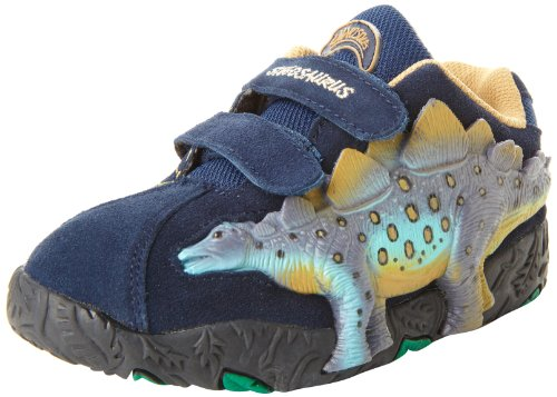 Dinosoles 3D X10 Shoes - Stegosaurus LT Blue - UK 12 (Jnr)