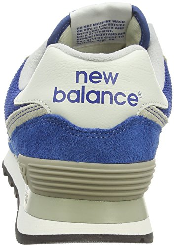 New Balance Ml574, Herren Sneakers Blau (blue/blue/grey)