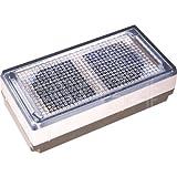 Wartungsfreier Solar Pflasterstein 10x20cm mit LED weiß