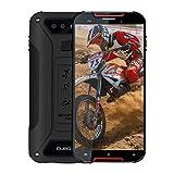 CUBOT Quest Lite Télephone Portable Incassable débloqué 4G, 2019 Smartphone Résistant IP68 IP69K Etanche Antichoc Mobile 3Go+32Go 2.0GHz Android 9 Dual Nano SIM 5,0 Pouce Type-C GPS Compas NFC - Rouge