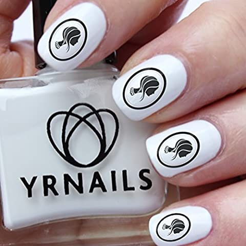 Lady Cameo - Decals Pour Ongles Yrnails