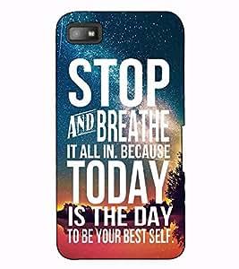 Fuson Designer Back Case Cover for Samsung Galaxy J2 (6) 2016 J210F :: Samsung Galaxy J2 Pro (2016) (Stop and breathe it all theme)