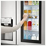 LG 668 L Frost Free Side-by-Side InstaView Door-in-Door Refrigerator(GC-X247CSAV.ANSQEBN, Noble Steel, Inverter Compressor)