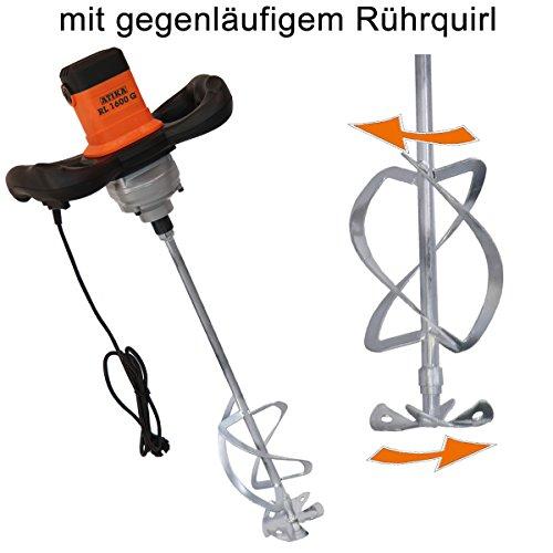 ATIKA Betonmischer Handrührgerät Mörtelrührer Handrührwerk RL 1600 G ***NEU***
