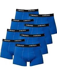 Head Herren Boxershorts im 8er Pack ohne Eingriff 841001001 (Blue, S)
