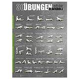 Sportboxx Blackroll 30 Übungen Trainingsposter