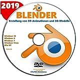 BLENDER 2020 Software zur Erstellung von 3D-Animationen und 3D-Modelle